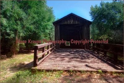 Locust Creek Covered Bridge, Laclede, Missouri   Photo# 128