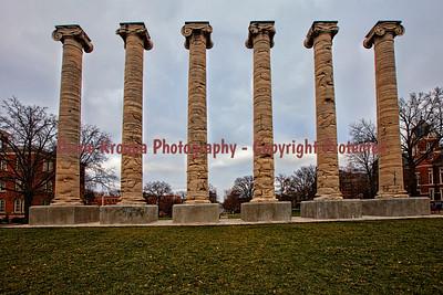 Mizzou Columns  Photo# 243