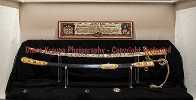 General Pershing's sword, ring and watch.  Laclede, Missouri  Photo# 232