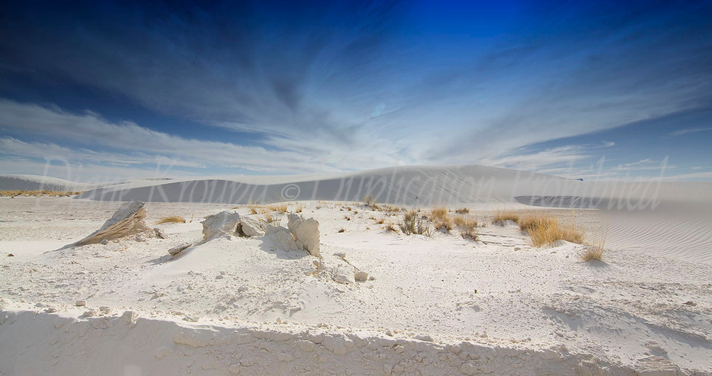 White Sands National Monument, New Mexico.  Photo #NM-118
