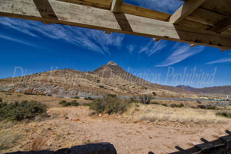 Organ Mountain - St. Augustine pass - New Mexico.  Photo #NM-113