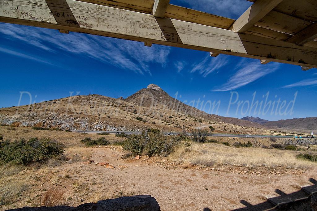 Organ Mountain - St. Augustine pass - New Mexico.  Photo #NM-113