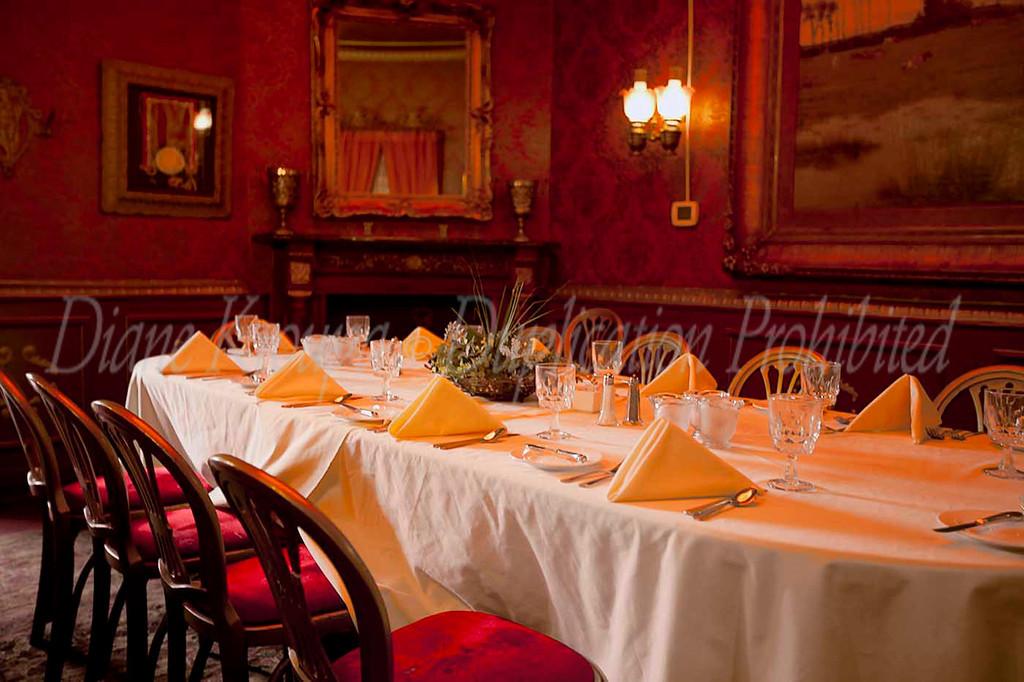 Double Eagle haunted restaurant in old Mesilla, New Mexico,  Photo #DE-551.