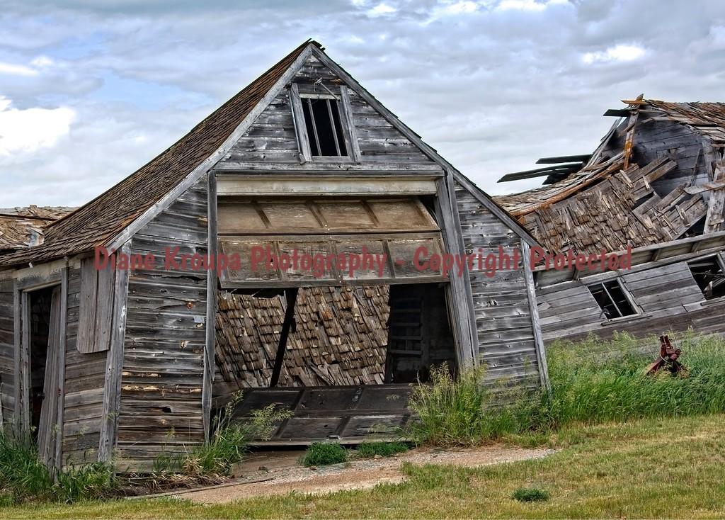 Gascoyne Lumber Company, Gascoyne Ghost Town, North Dakota.   Photo# 29