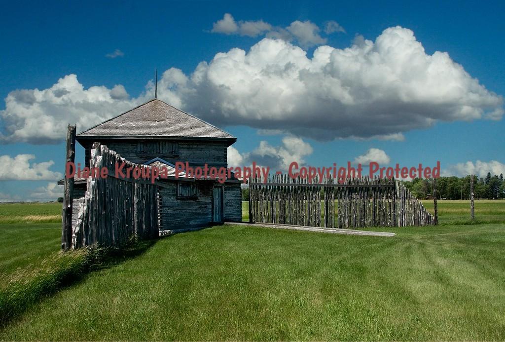 Fort Abercrombie, North Dakota.  Photo# 40D