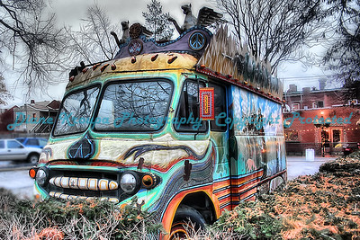 Venice Cafe Party Van, Soulard Area, St. Louis, MO.  Photo#WH782