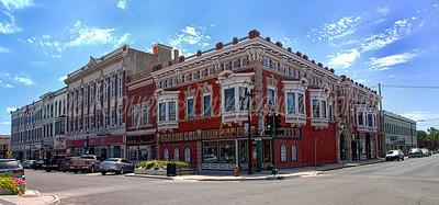 The Corner Pharmacy, 5th & Delaware, Leavenworth, Kansas.  Photo #215