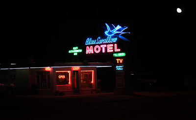 Blue Swallow Motel on Route #66, Tucumcari, NM.  Photo#8963