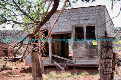 Old Ghost Town box house in Cuervo, New Mexico, on Old Route 66. Photo #6603