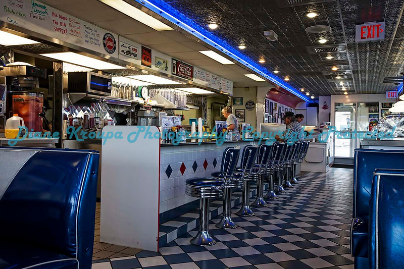 Penny's Diner, Missouri Valley, Iowa.  Photo #64