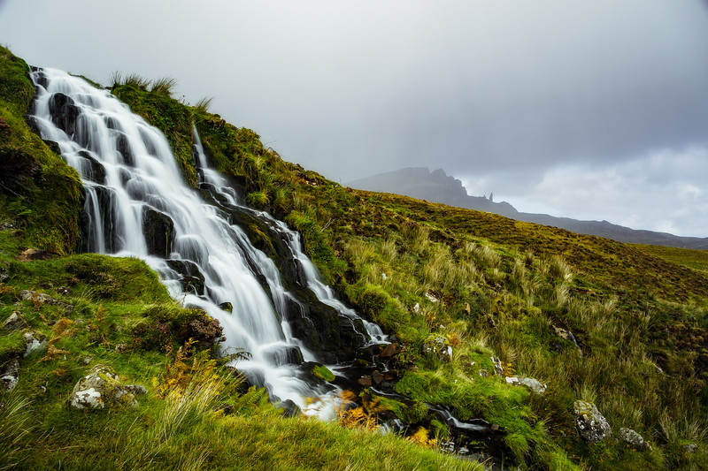 Waterfall in Isle of Skye