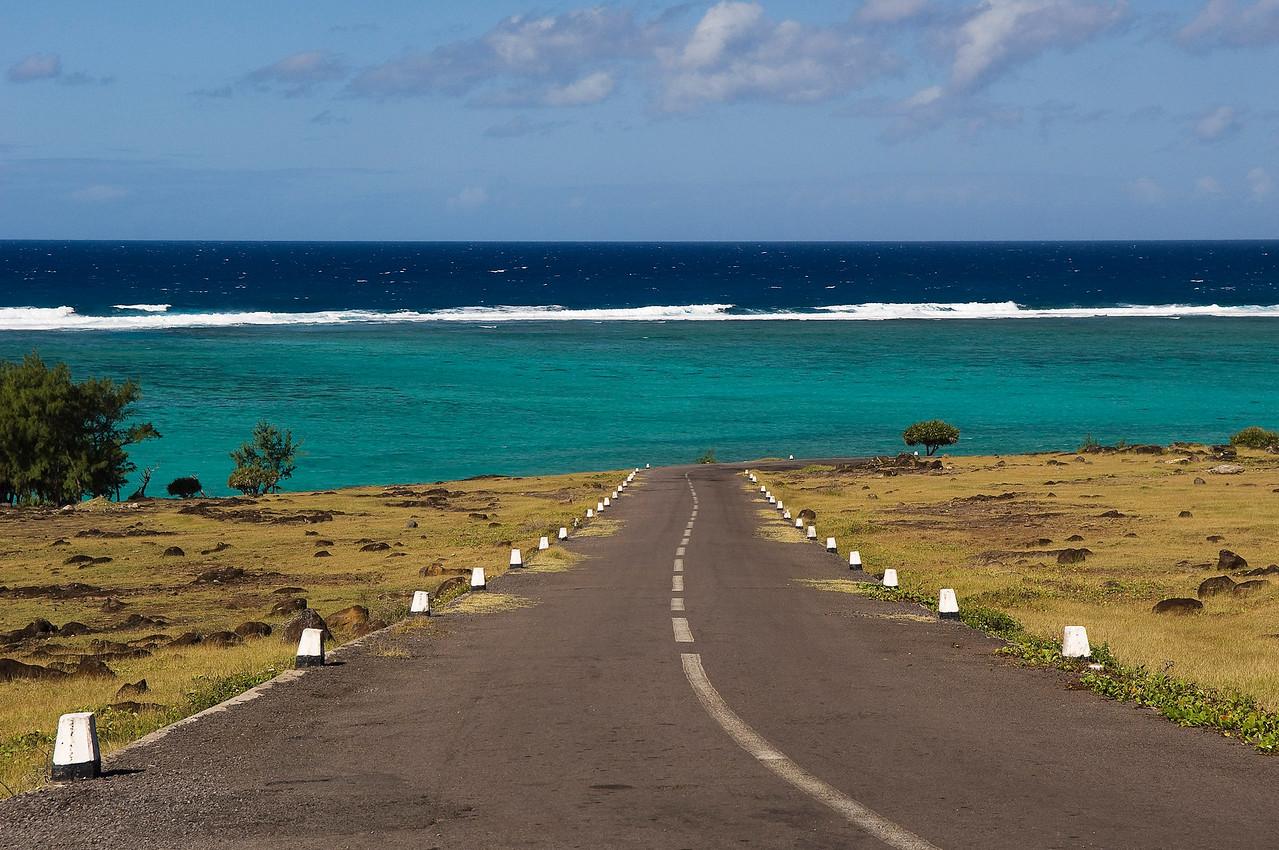 RODRIGUES ISLAND JUNE 2010 Landscape of Rodrigues.