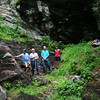 Rich, Mtnimages, Harry and Cathy at Cavern Falls