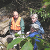 Paul, Kevin and Bernie at Paw Paw Falls