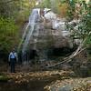 John at Bear Camp falls