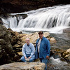 John and Mtnimages at Wheelchair Accessible Falls on the upper Whitewater River
