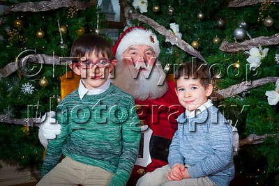 Photos with Santa - 2018