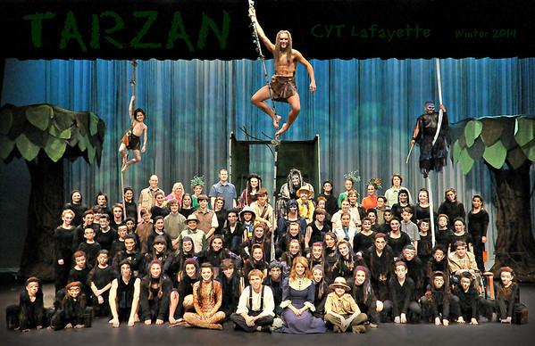 TARZAN Cast Photo