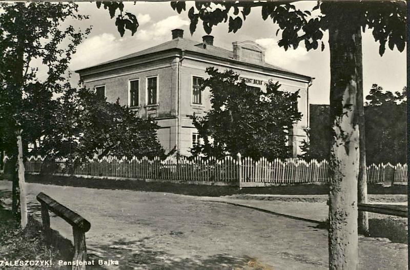 """Пансіонат """"БАЙКА""""  (Bajka)  / """"ЗДОРОВ'Я"""" (Zdrowie). Цей будинок у різні часи мав різні назви"""