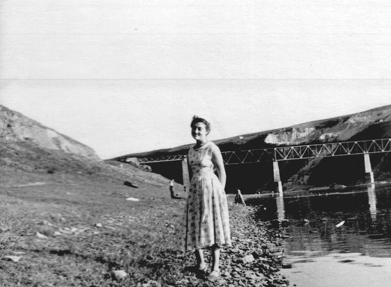 Емма Вихристюк студентка технікуму у 1957р