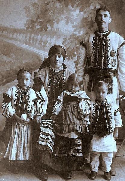 Родина із Заліщик.