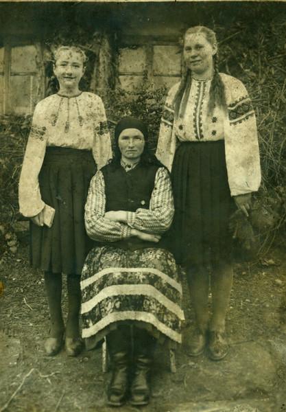 Стефанія Лопух (Білявська), Михайліна Білявська, Ганна Кожушко (Климова)
