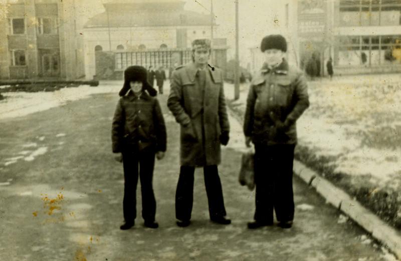 Роман Черлінка, Омелян Липчук і Віктор Герасимяк