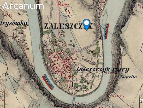 Друге військове обстеження Австрійської Імперії 1806-1887. Заліщики. ARCANUM, Hungary