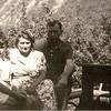 Євген Маланюк з дружиною Богумилою (Савицька) і сином Богданом. Заліщики 1943