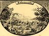 Панорама міста Заліщики. Гравюра. 1804.
