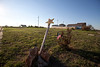 Empty lots where homes were destroyed by tornado
