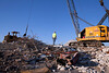 demolishing hospital