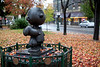 "Santa Rosa was home to Charles Shultz, creater of ""Peanuts."""