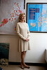 New York City Planning Director Amanda Burden in her office.