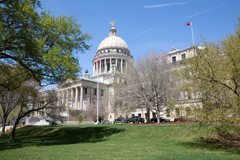 The Beaux Arts-style building was designed to house all branches of Mississippi state government. Currently, only the Legislature, the ceremonial office of the Governor's, and an office of the Secretary of State operate in the Capitol. A four-year, $19 million restoration completed in 1983 helped to preserve and maintain the original features of the building.