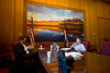 Governor Hickenlooper in his office