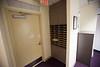 mail slots/exit door