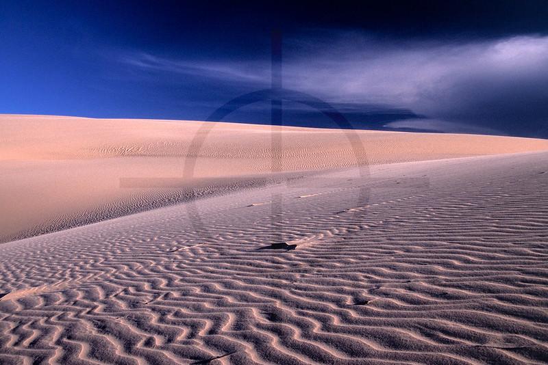 Wind ripples on dunes, Bazaruto Island, Bazaruto Archipelago, Mozambique