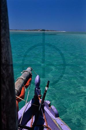 Dhow safari, Bazaruto Archipelago, Mozambique