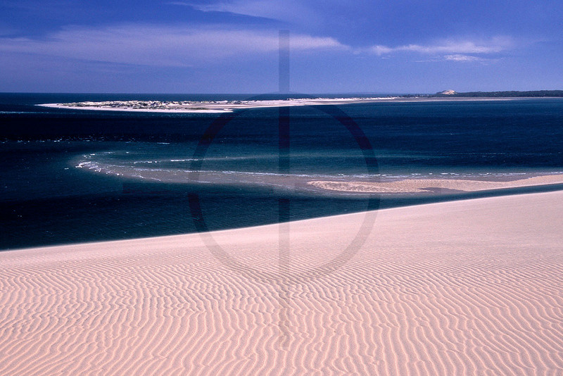 Sand, sea and sky. Bazaruto and Benguerra Island, Bazaruto Archipelago, Mozambique