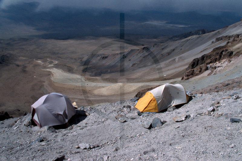 Sajama base camp, Sajama National Park, Oruro Department, Bolivia