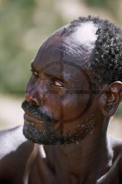 Portrait of the blacksmith in Maralal, Kenya