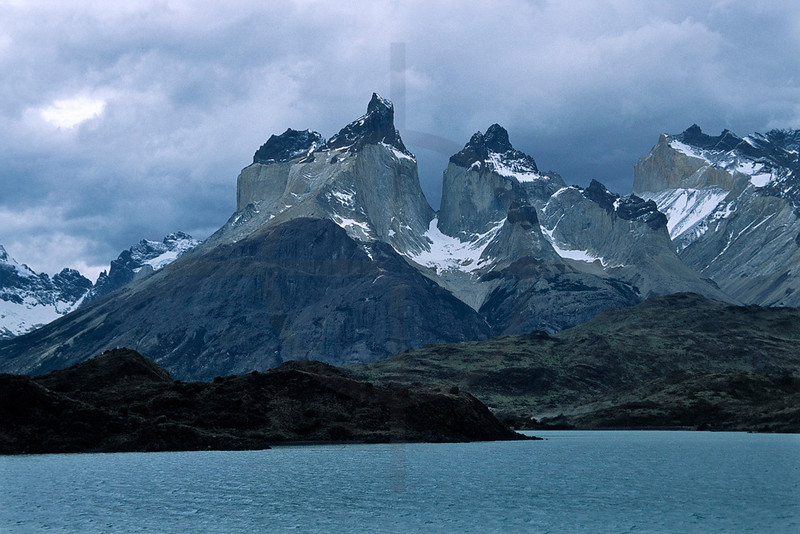 Lake Pehoé and Los Cuernos, Torres del Paine National Park, Chile