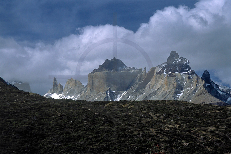 Los Cuernos, Torres del Paine National Park, Chile