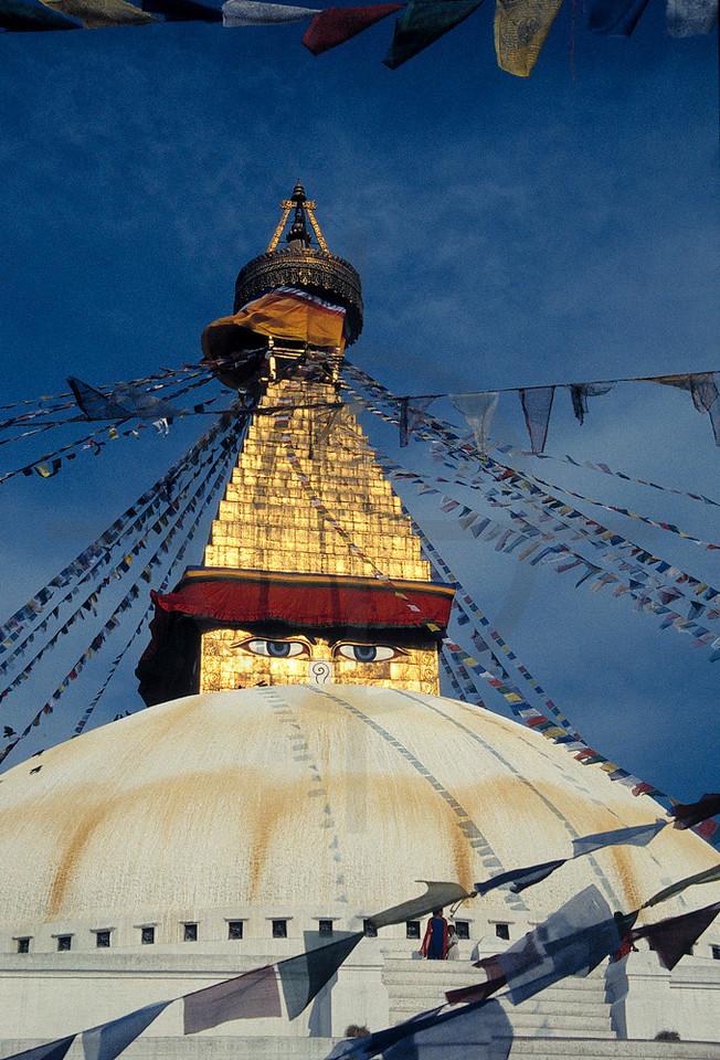 Boudhanath Stupa, Kathmandu Valley, Nepal