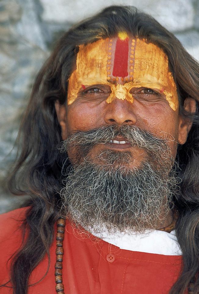 Sadhu, Pashupatinath, Kathmandu Valley, Nepal