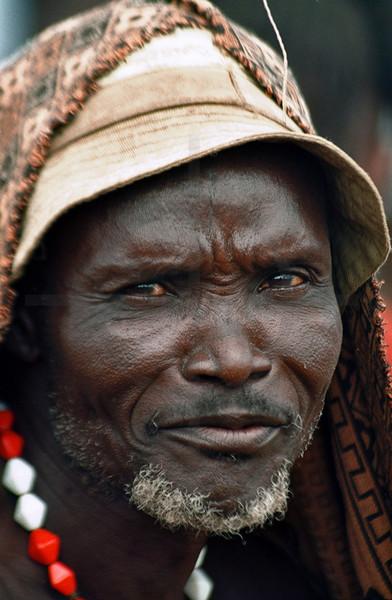 Galeb man, Omorate, Southern Ethiopia