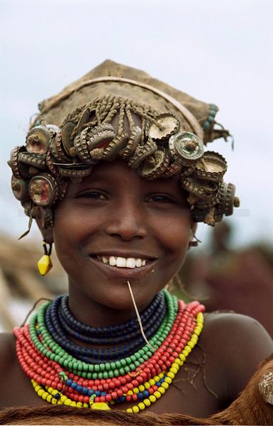 Galeb girl, Omorate, Southern Ethiopia