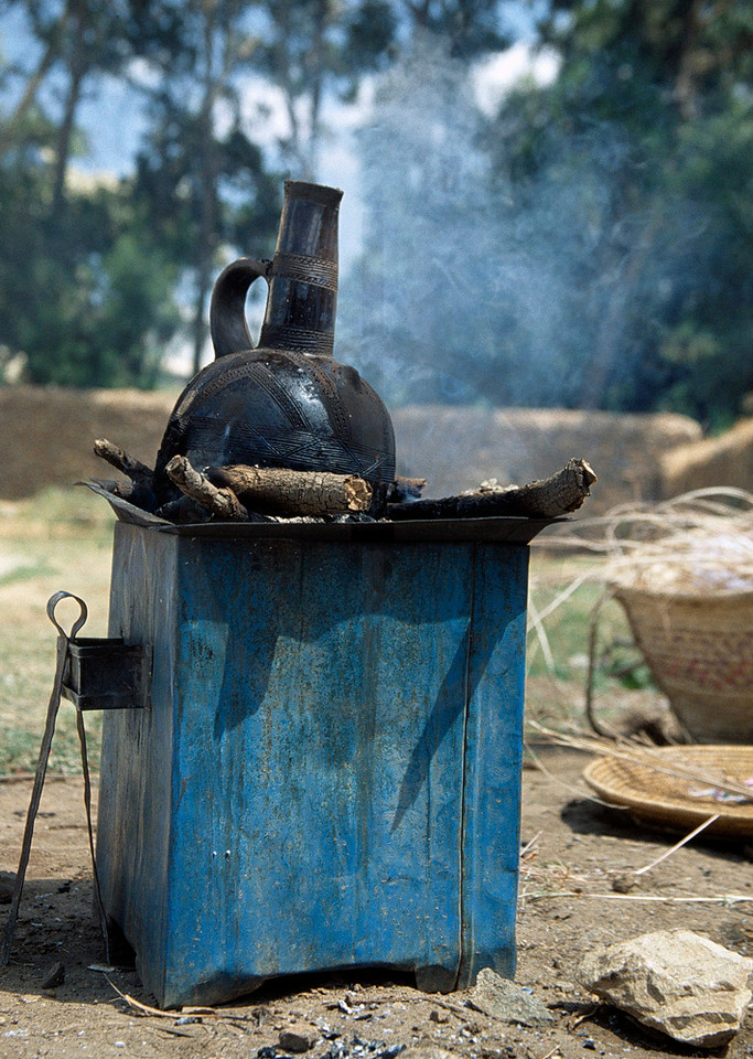coffee-maker, Axum; Northern Ethiopia