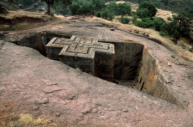 Bet Giyorgis, Lalibela, Northern Ethiopia